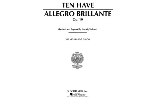 Allegro Brillante, Op. 19 for Violin