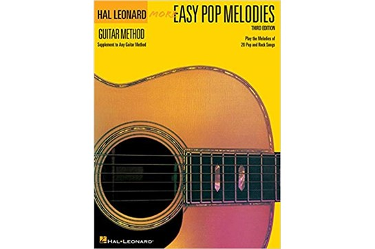 Hal Leonard More Easy Pop Melodies for Guitar