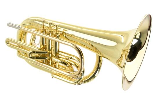Used Yamaha YBH-301M Marching Baritone