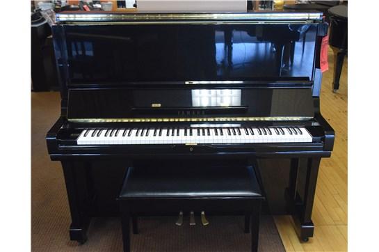 1994 Yamaha U3F Upright Piano - Polished Ebony
