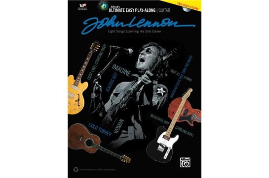 John Lennon Ultimate Easy Play Along Guitar w/DVD