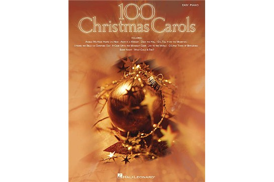 100 Christmas Carols - Easy Piano