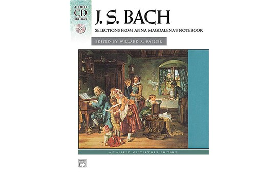 J.S. Bach - Selections from Anna Magdalena's Notebook with CD - Piano Solo (7111C2)