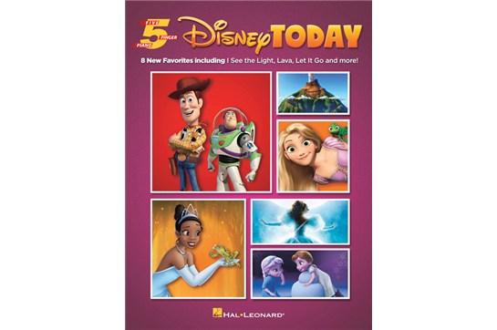 Disney Today 5 Finger Songbook