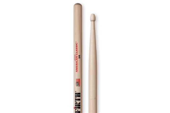 Vic Firth 5A Wood Tip Drumstick
