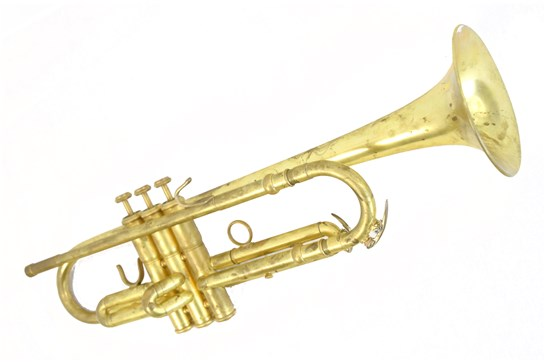 Used Cannonball 42 Series Trumpet (Raw Brass)