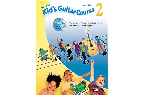 Alfred's Kid's Guitar Course 2 w/DVD