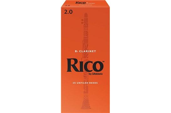 Rico Clarinet Reeds Strength 2 (Box of 25)