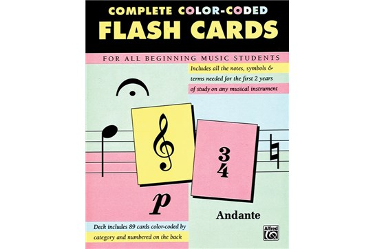 Alfred's Complete Color-Coded Flash Cards