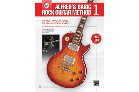 Alfred's Basic Rock Guitar Method 1 w/Audio
