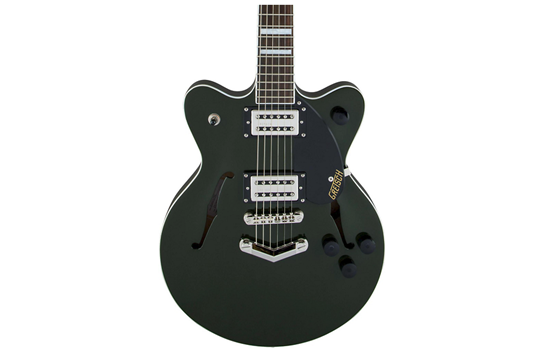 Gretsch CG2655TG Streamliner Center Block Jr. V Stoptail (Torino Green)
