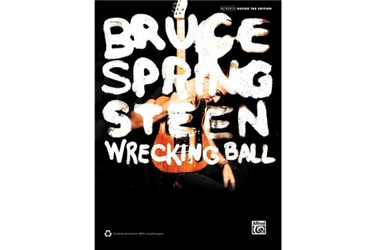 Bruce Springsteen Wrecking Ball GTR TAB