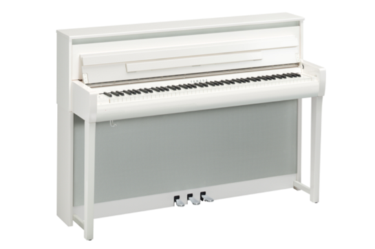 Yamaha Clavinova CLP685PWH (Polished White)