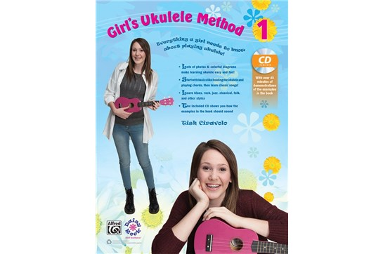 Girl's Ukulele Method Bk 1 w/cd