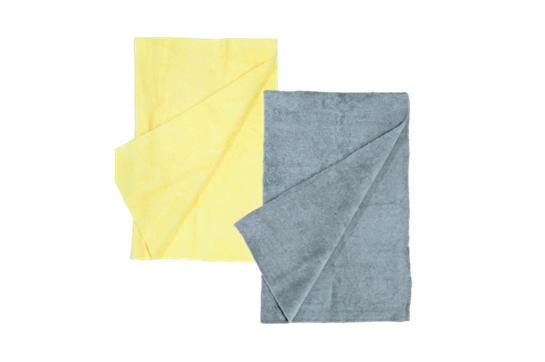 MusicNomad Microfiber Drum Detailing Towels - 2 pack