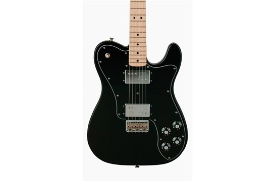 Fender Classic Series '72 Telecaster Deluxe (Black) - Maple Neck
