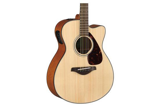 Yamaha FSX800C Small Body Acoustic-Electric Guitar (Natural)