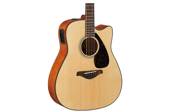 Yamaha FGX800C Acoustic-Electric Folk Guitar (Natural)