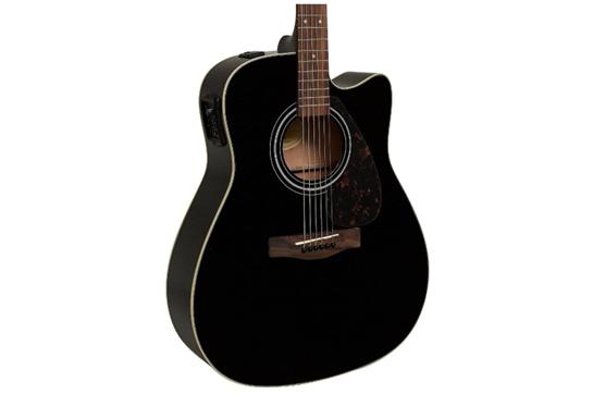 Yamaha FGX800C Acoustic-Electric Folk Guitar (Black)