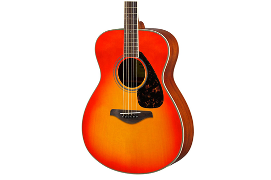 Yamaha FS820  Small Body Acoustic Guitar (Autumn Burst)