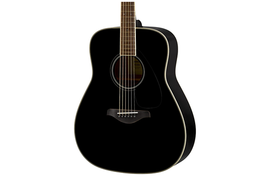 Yamaha FG820 Acoustic  Folk Guitar (Black)