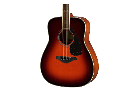 Yamaha FG820 Acoustic  Folk Guitar (Brown Sunburst)