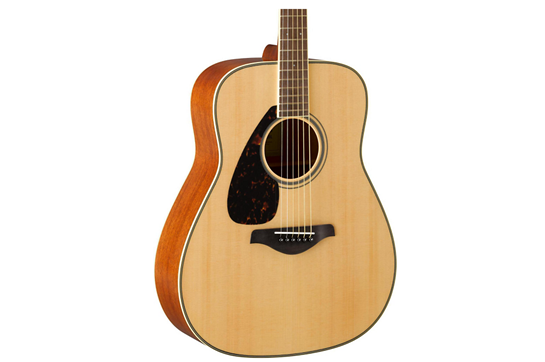 Yamaha FG820 Left-Handed Acoustic Folk Guitar (Natural)