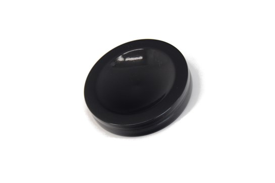 Jansen 836 Small Satin Ebony Caster Cup