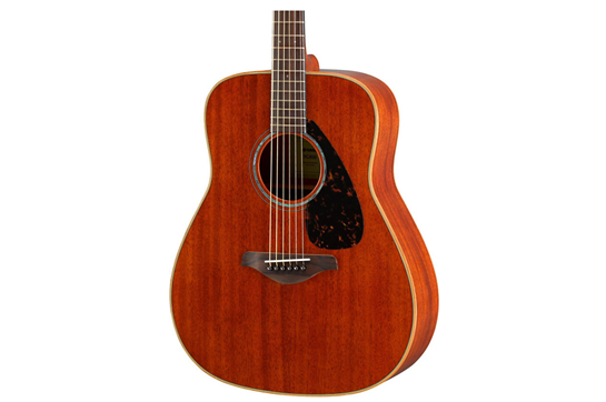 Yamaha FG850 Acoustic Folk Guitar (Mahogany Natural)