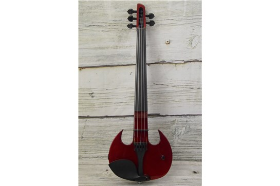 Used Wood Violins SVX5 Stingray 5-String Electric Violin - Candy Apple Red