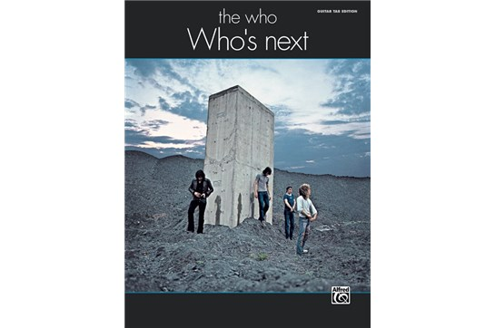 The Who: Whos Next GTR TAB