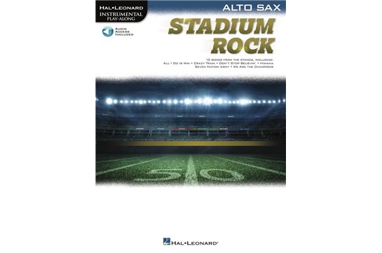 Stadium Rock for Alto Sax