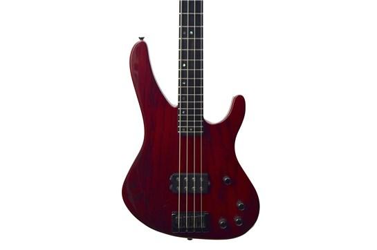 1997 Washburn XB-900 Active Bass w/hard case (Stonewash Red)- used