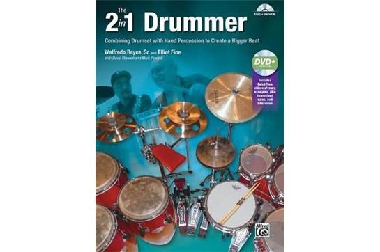 2 in 1 Drummer: Book w/DVD