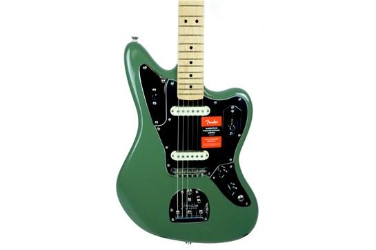 Fender Am Pro Jaguar Maple (Antique Olive) - Demo