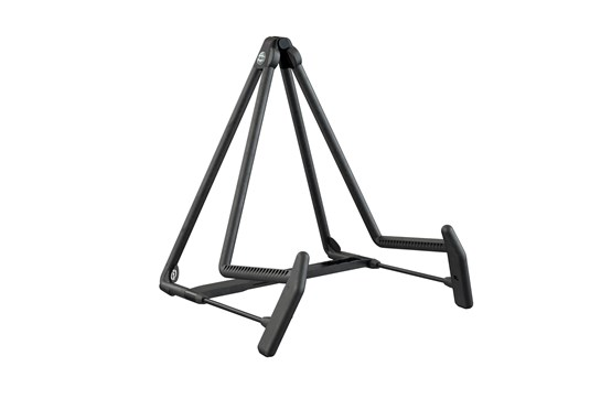 K&M Guitar and Cello Stand (Heli-2 Easy Fold)