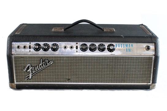 1967 Fender Bassman Amp (Silverface)