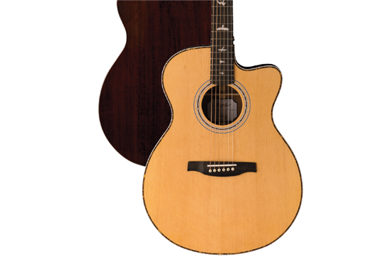 PRS SE Angelus A40E Acoustic-Electric Guitar (Natural)