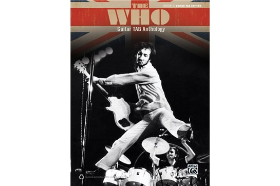 The Who Guitar TAB Anthology