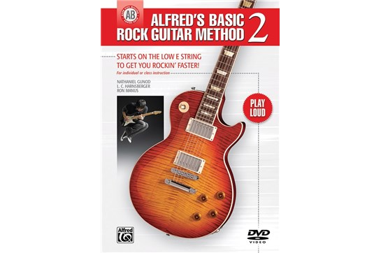 Alfred's Basic Rock Guitar Method 2 w/DVD