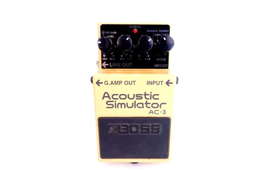 Used Boss AC-3 Acoustic Simulator pedal