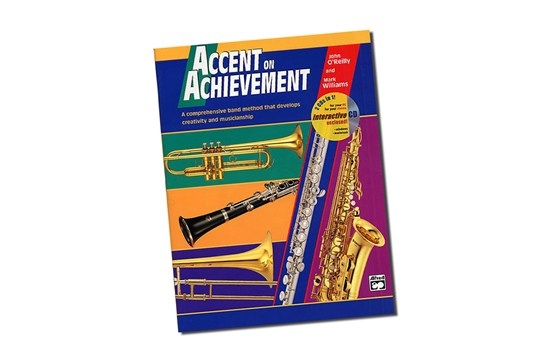 Accent on Achievement Alto Saxophone Lesson Book 1
