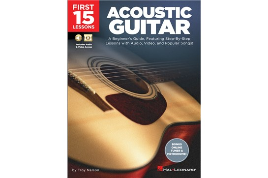 First 15 Lessons - Acoustic Guitar