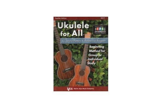 Ukulele For All (Teacher Edition)