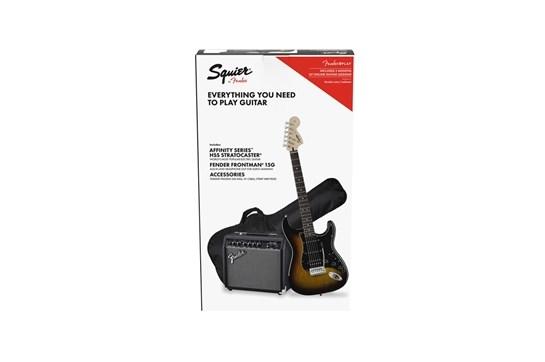 Squier Affinity Series Strat HSS Pack - Sunburst