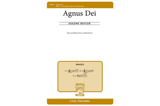 Agnus Dei - 3 Pt