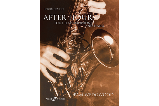 After Hours for E-Flat Alto Sax and Piano Book and CD