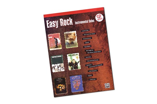 Easy Rock Instrumental Solos for Alto Saxophone