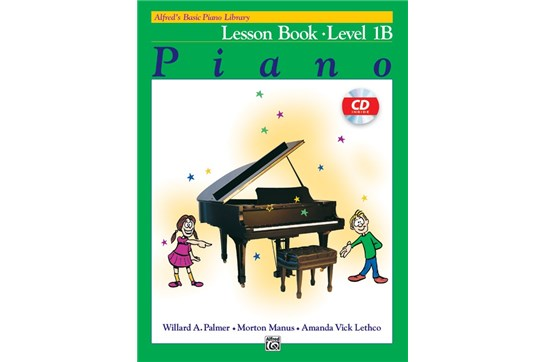Alfred's Basic Piano Library: Lesson Book 1B with CD