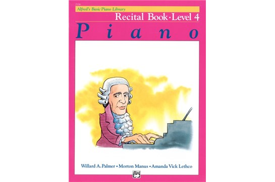 Alfred's Basic Piano Library: Recital Book 4